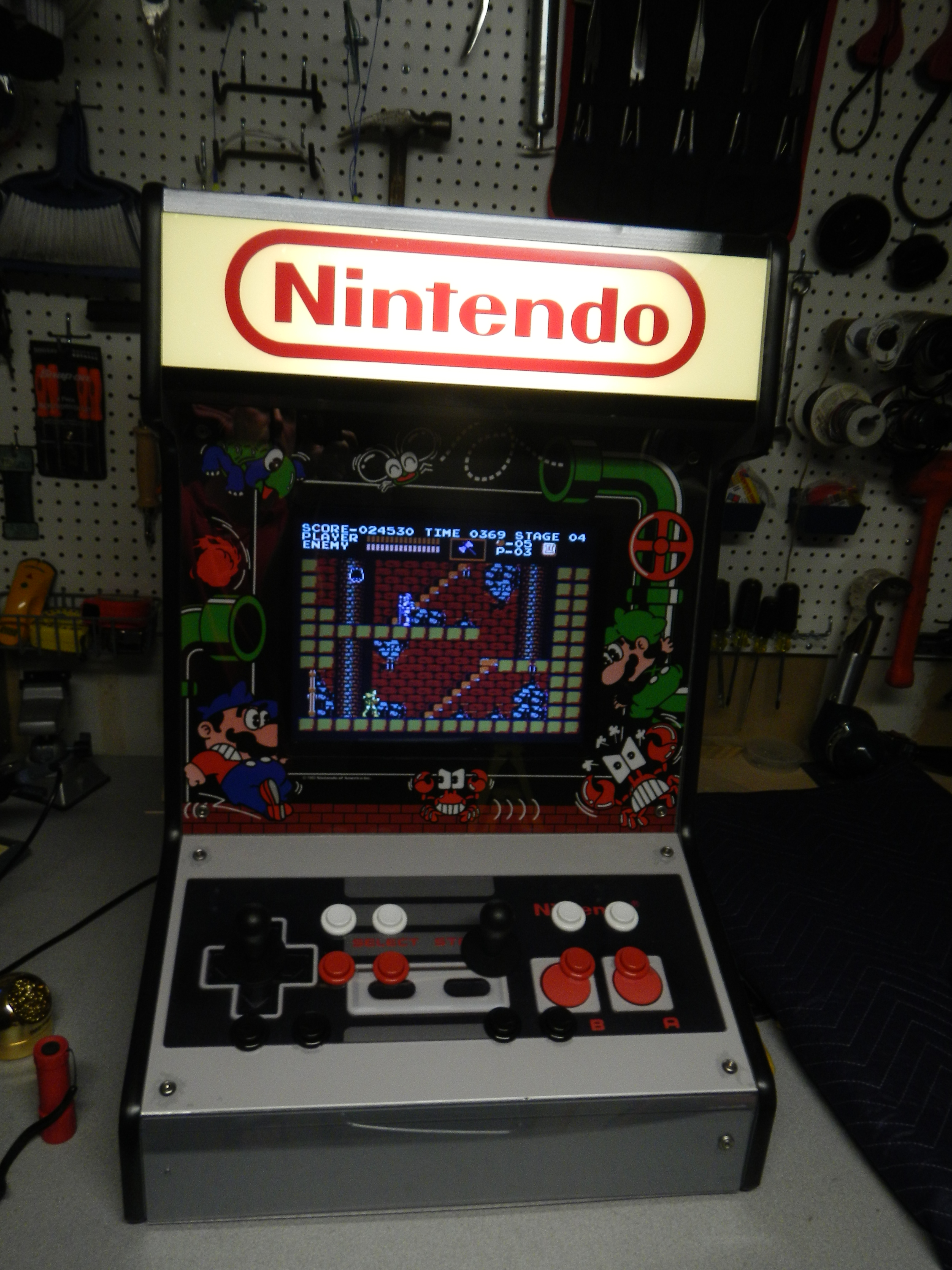 How to build a Bartop Arcade