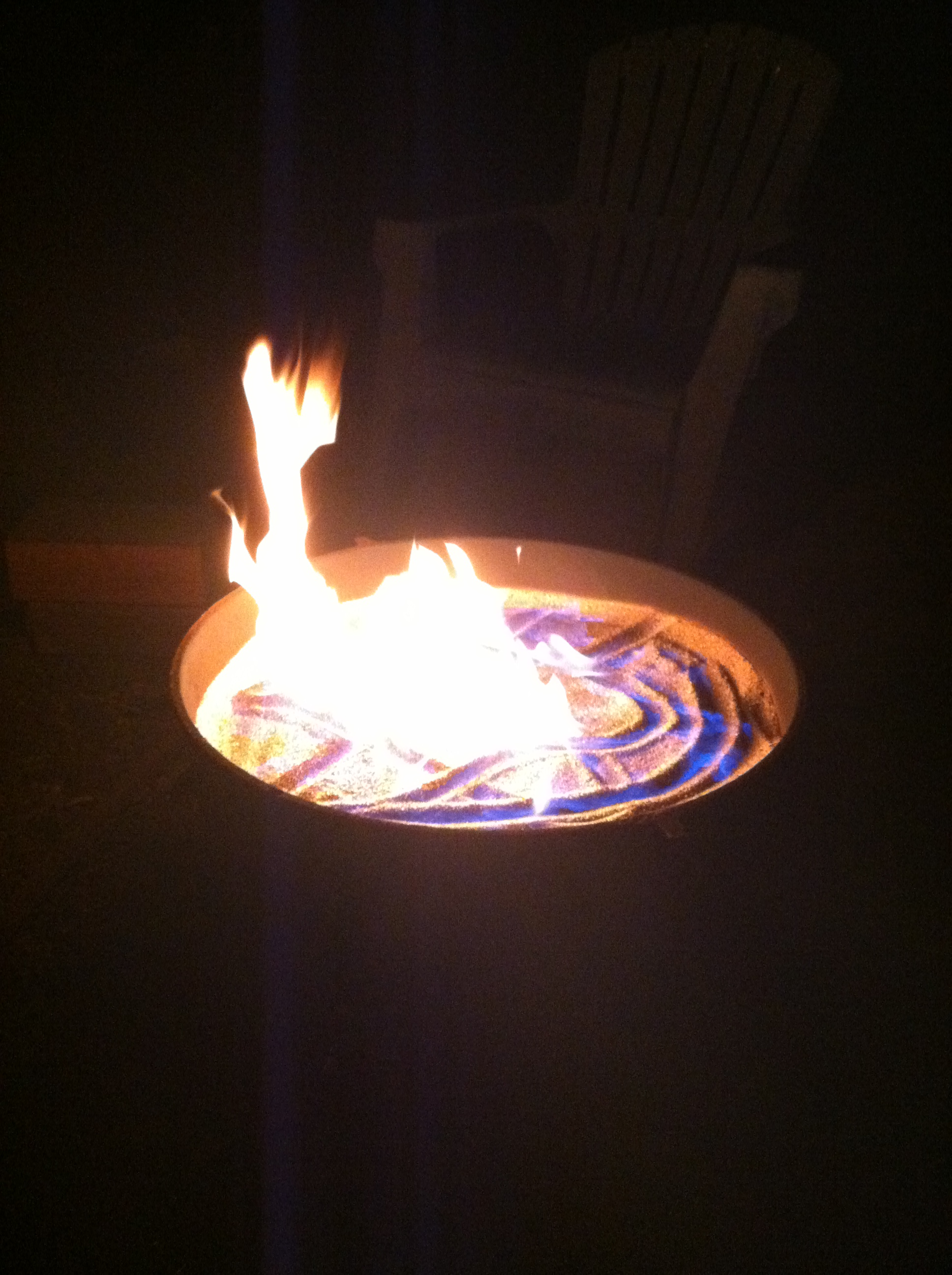 Flaming Cauldron Fire pit