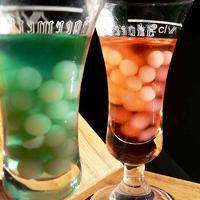 Creepy Bubble Cocktails