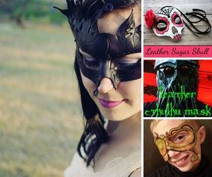 DIY Leather Masks