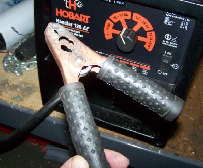 Improving a Welder Ground Clamp