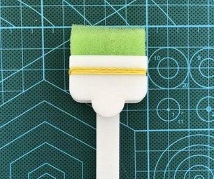 Sponge Brush Holder