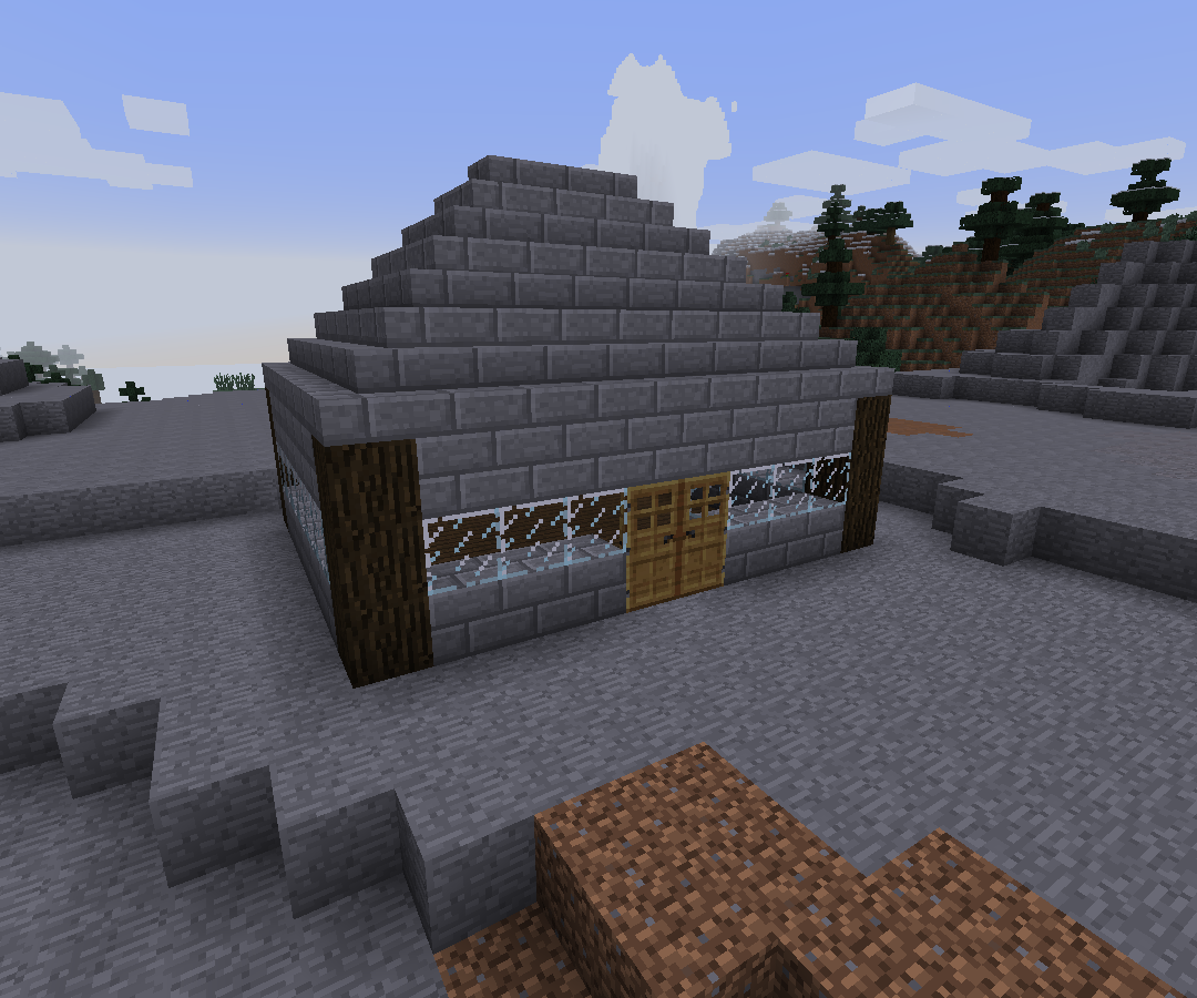 How to make a simple Minecraft house