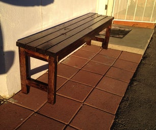 Yard or Garden Bench