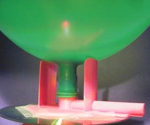 Balloon Powered Hovercraft