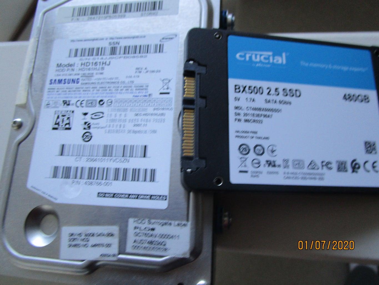 Clone & Upgrade Hard Drive on PC