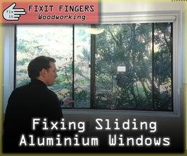 Fixing Sliding Aluminium Windows