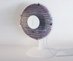 Transform a Fan Into an Air Cooler - (EN - FR)