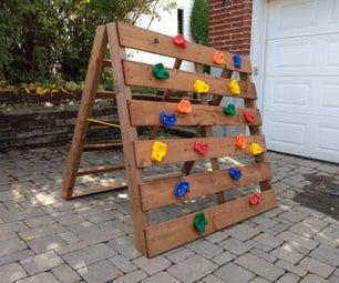 儿童折叠攀岩模块