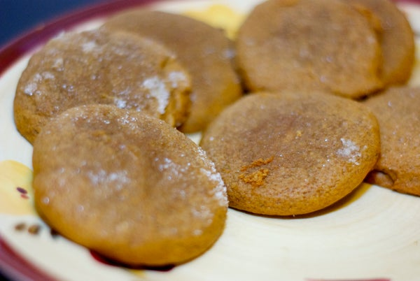 Michelle's Super Soft Gingerbread Cookies