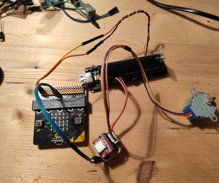 28BYJ-48 5V Stepper Motor and A4988 Driver