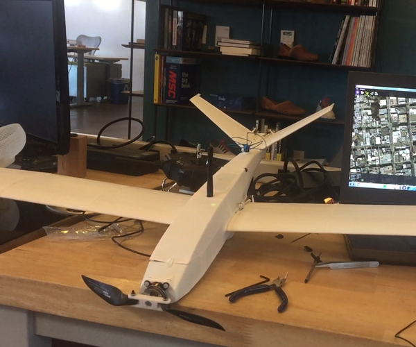 3D Printed Fixed Wing Drone