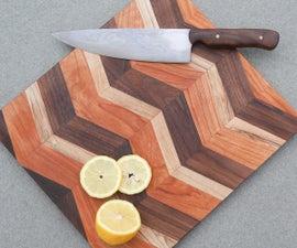 DIY Chevron Cutting Board