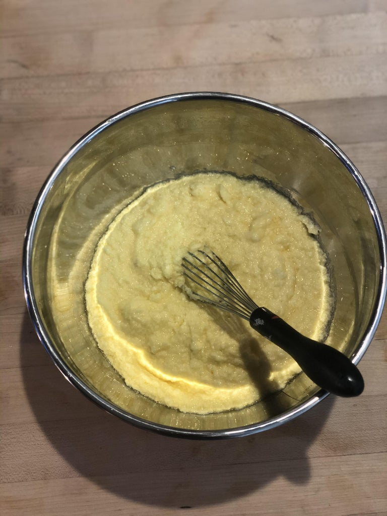 Whisking the Mixture