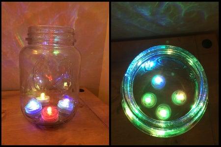 Prepare the Lantern Light Base