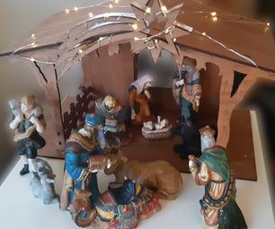 Nativity Scene - Plywood