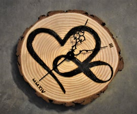 Incredibly Meaningful Infinity Heart Clock for Under $25