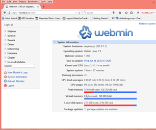 Making File Manager Work in Webmin