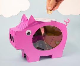 """""""When Pigs Fly"""" Micro:bit Powered Flying Piggy Bank"""