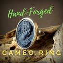 Hand-Forged Cameo Ring