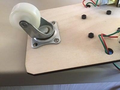 Reinstalling the Caster Wheel