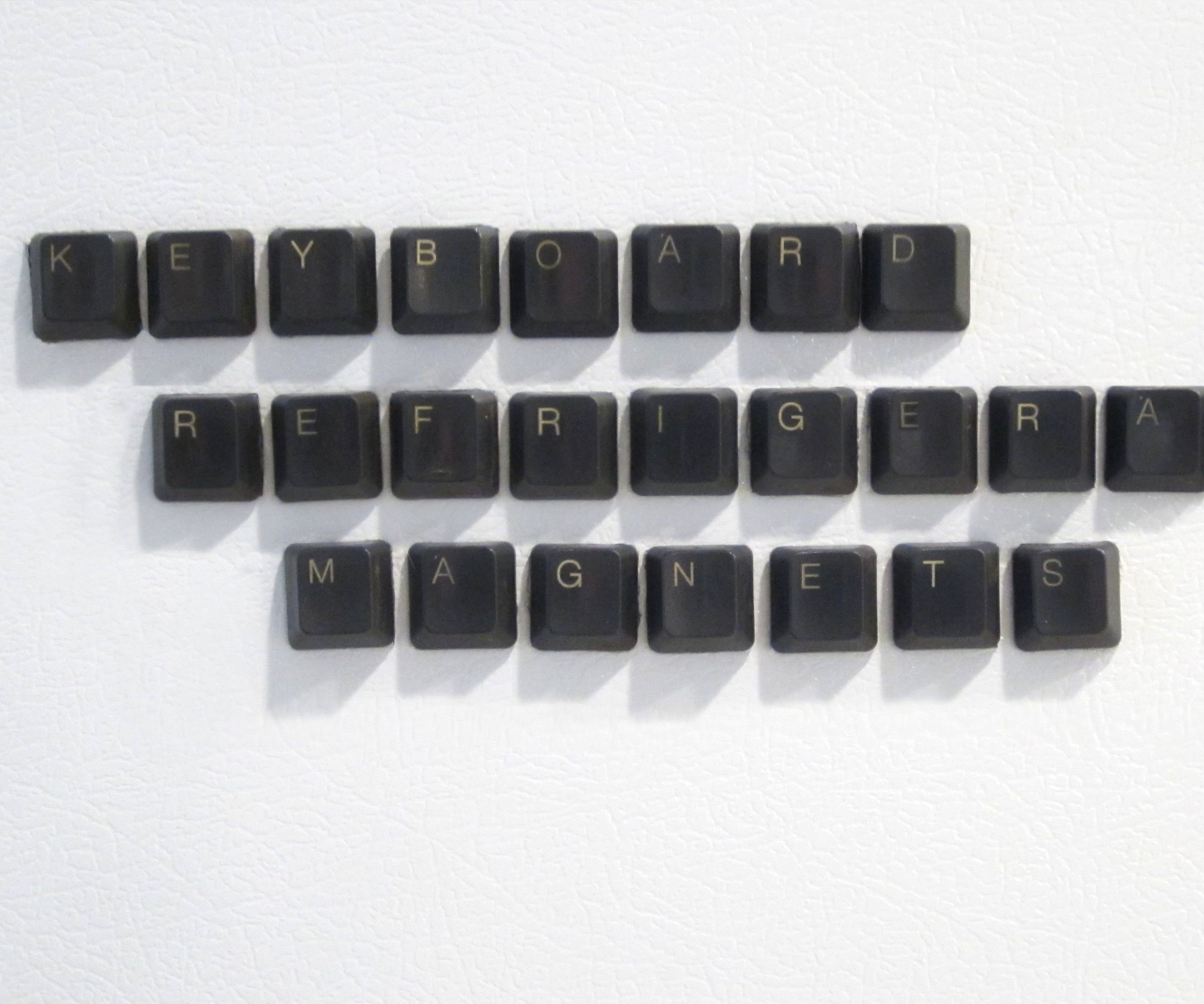 Keyboard Refrigerator Magnets