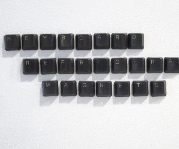 Keyboard Refrigerator Magnets