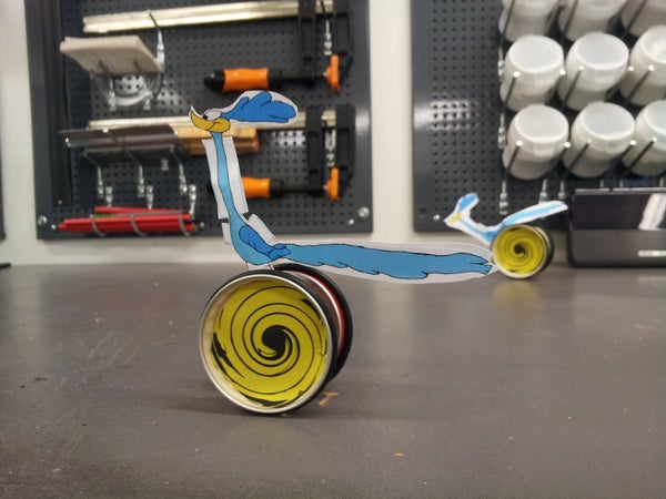 Road Runner Toy That Is Really Fun to Make and Use