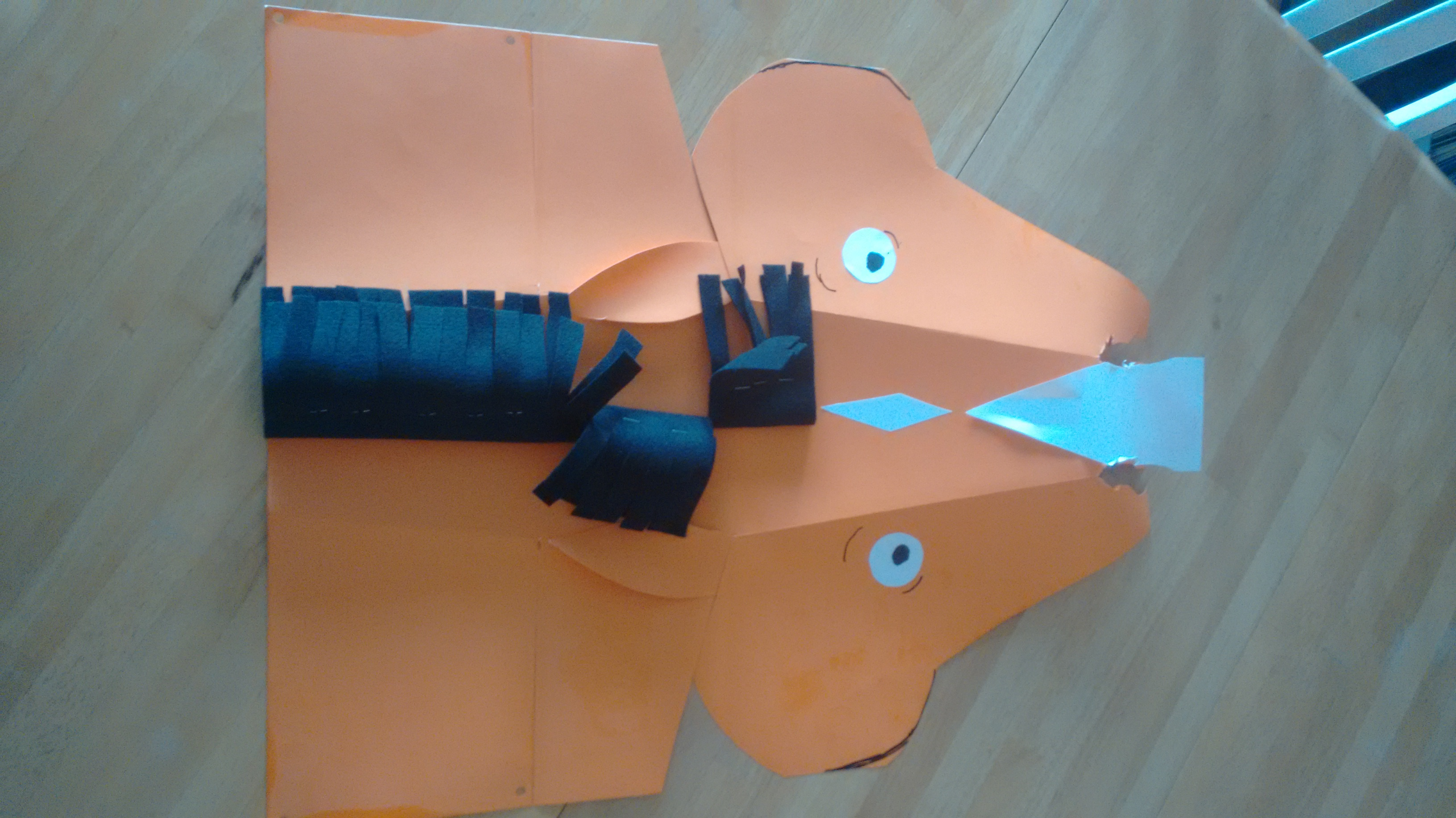 Horse Mask 4 Steps With Pictures Instructables