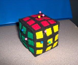 Rubik's Cube Style Pincushion