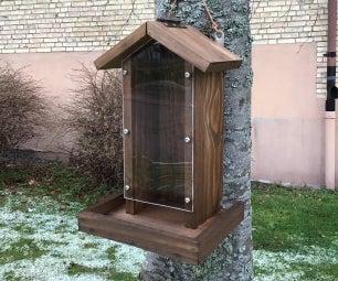 Fågelautomat.