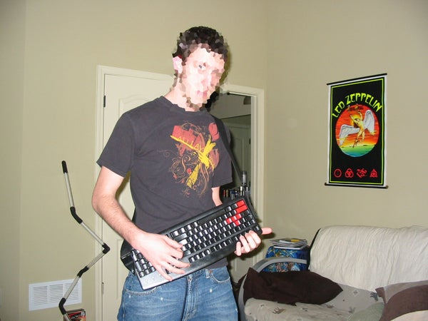 Add a Guitar Strap to Your Keyboard