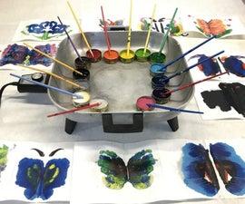 Rainbow Crayon Rorschach Tests