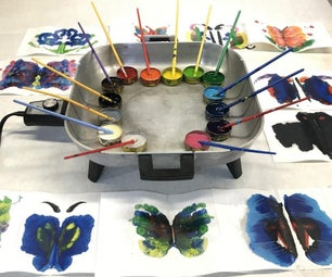 Rainbow Crayon Rorschach测试