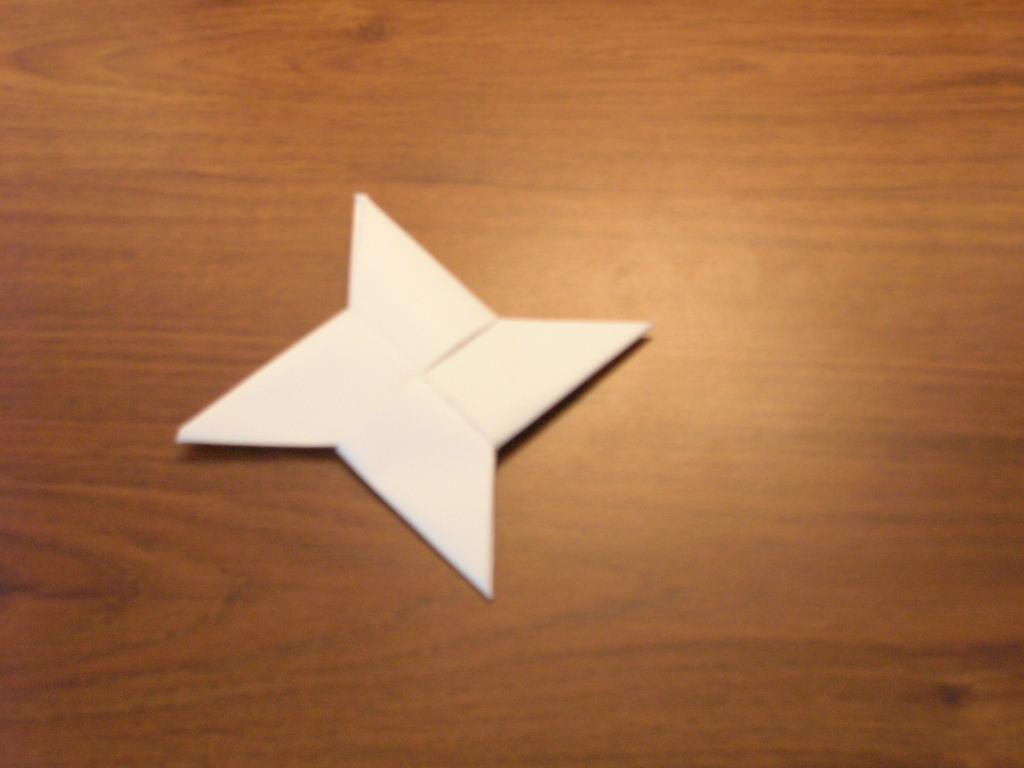 Paper Throwing Stars