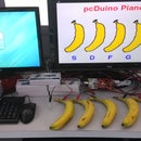 A Piano with Banana as Keyboard powered by pcDuino