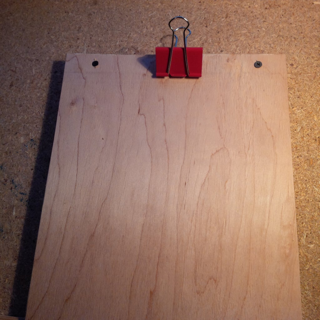 Clipboards From Large Clips
