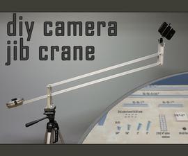 Easy DIY Camera Crane Jib