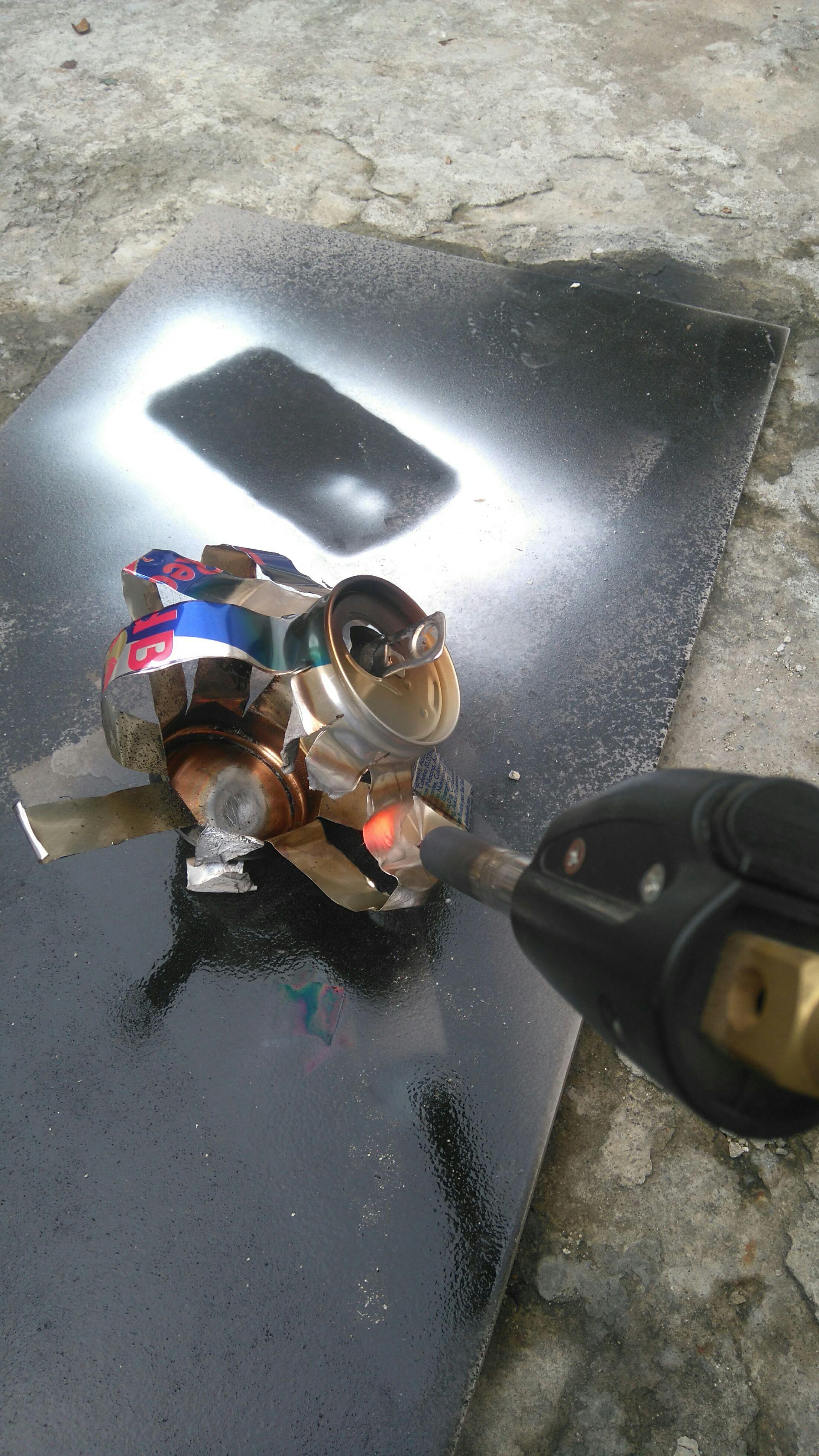 Cómo fundir una Lata de aluminio