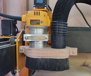 Dust Boot for CNC Router