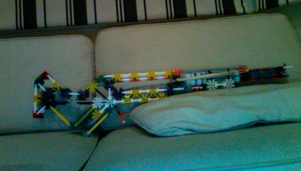 Knex assault rifle.