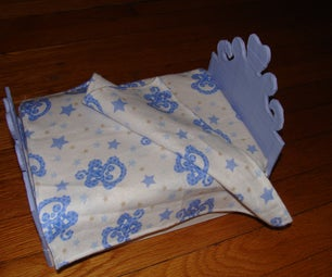 Doll Bed From Cardboard