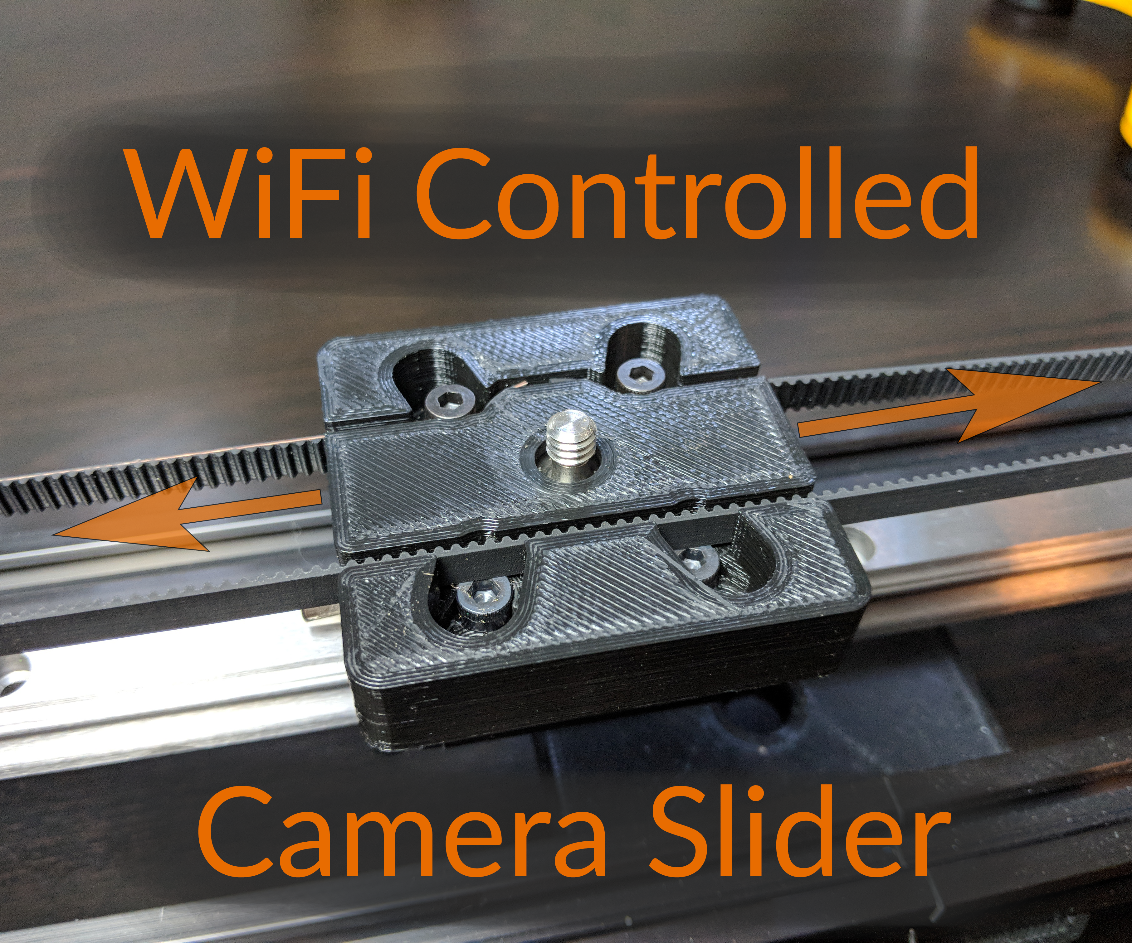 WiFi Controlled Camera Slider