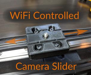 WiFi Controlled Camera Slider