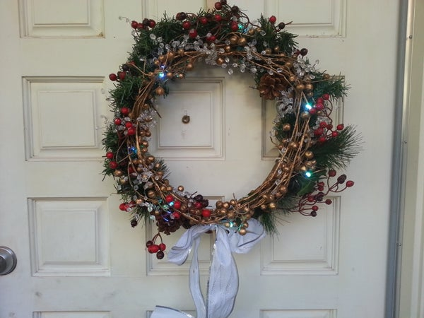 Arduino RGB LED Christmas Wreath