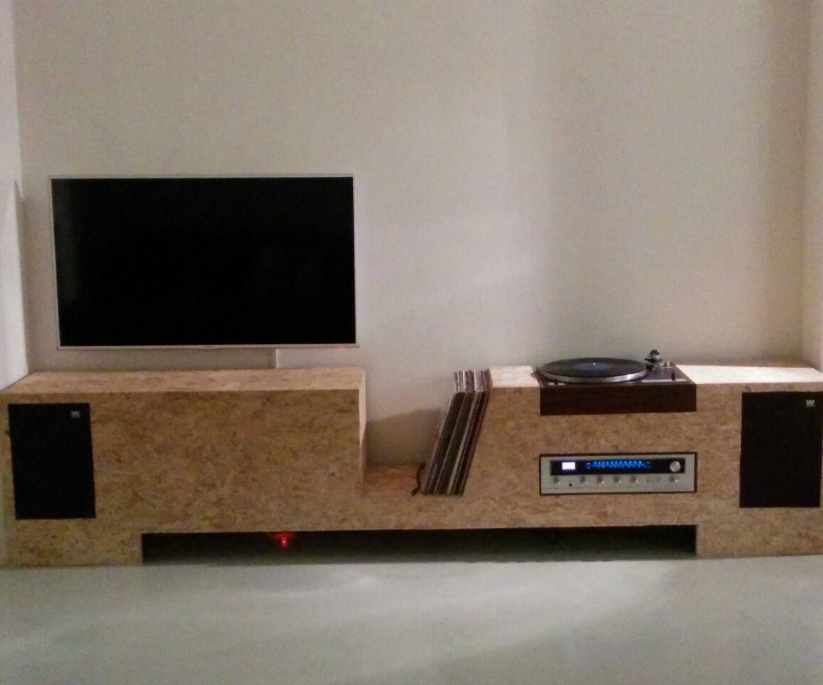 Turntable Cabinet OSB