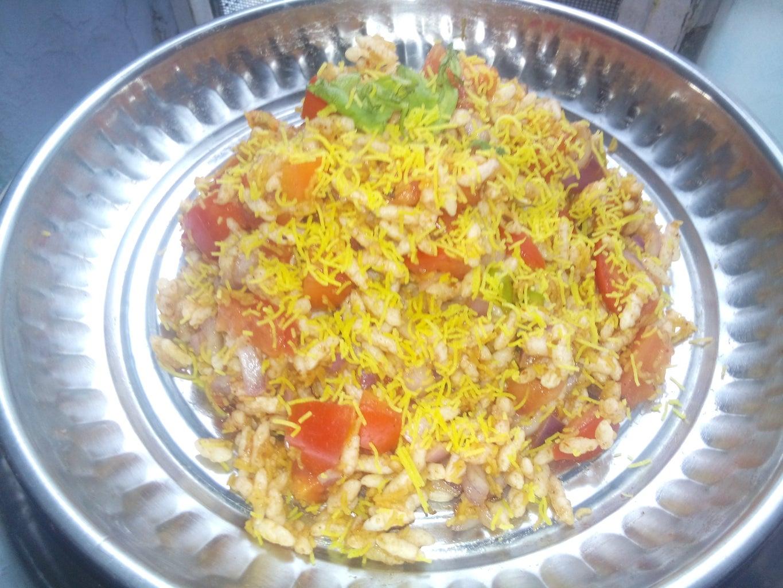 Indian Puffed Rice-Bhel Puri