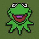 Kermit the Frog Pixel Art
