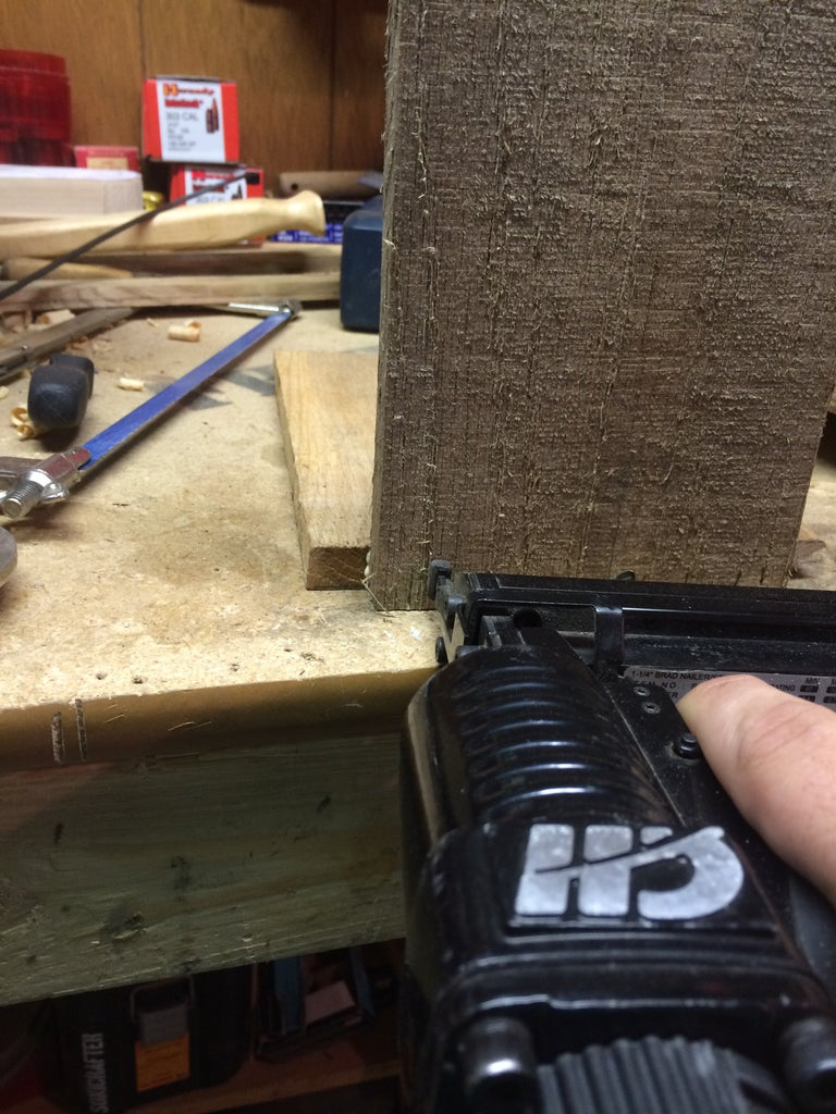 Attaching the End Boards