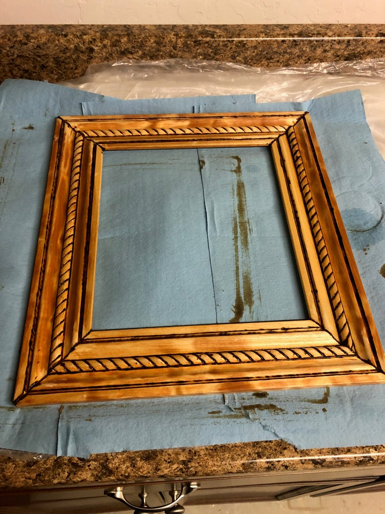 The Picture Frame: Prep, Stain & Clear Coat